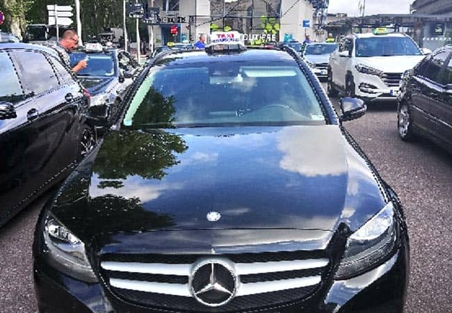 taxi Toulouse Mercedes